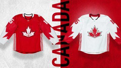 2016 World Cup Of Hockey Canada jerseys