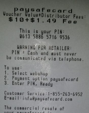 What are ukash vouchers