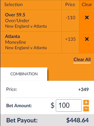 sportsbook review nfl super bowl parlay card