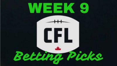 Week 9 CFL Picks