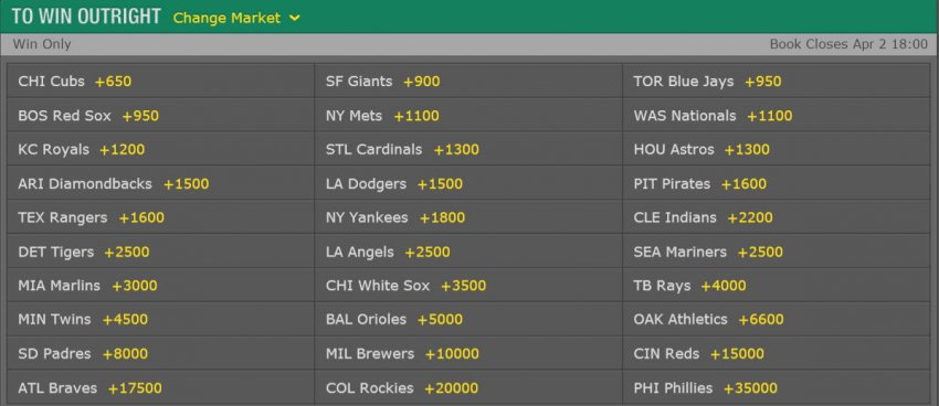 sports booking online mlb prop bets